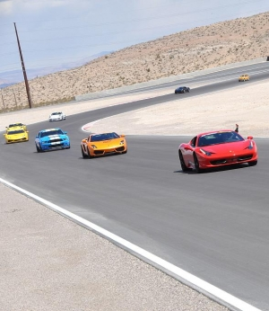 SPEEDVEGAS' Track Officially Opens with Lamborghinis, Porsches, Ferraris, Audis and Shelbys on a 1.5 Mile Formula One-Inspired Racetrack