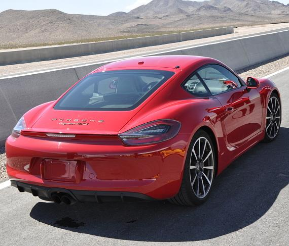 Porsche, one of several supercars that can be driven on SPEEDVEGAS' 1.5 mile track