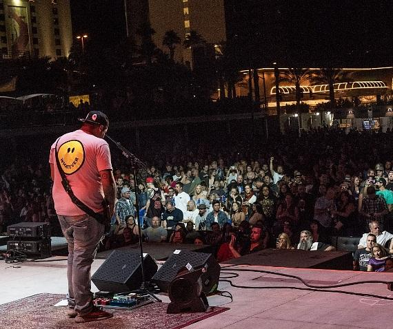 Sublime frontman Rome performs for crowd at DLV Events Center in Las Vegas