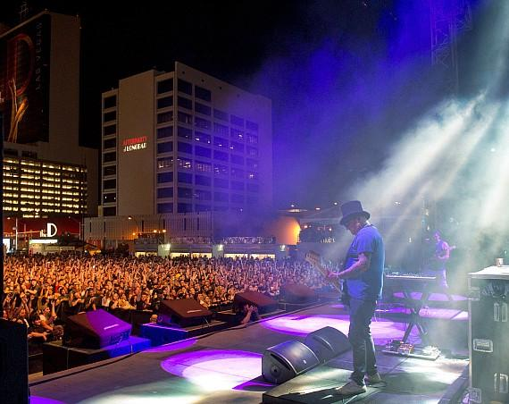 Sublime With Rome perform at Downtown Las Vegas Events Center in Las Vegas