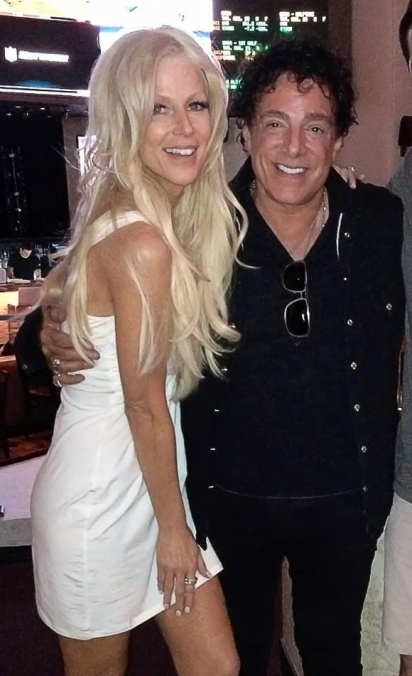 Journey's Lead Guitarist Neal Schon and Fiancé Michaele Salahi at HERAEA in Palms Casino Resort