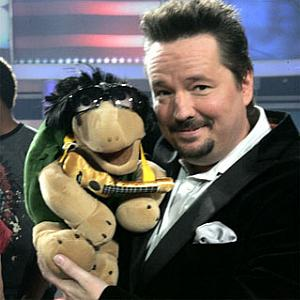 Celebrity impressionist, singer, comedian and ventriloquist Terry Fator