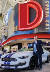 "Satisfy your 'Need for Speed' with ""Win Derek's Shelby GT"" Promotion at the D Las Vegas"