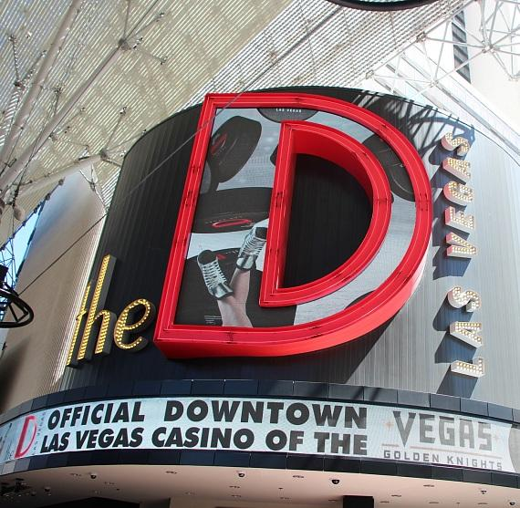 The D Las Vegas is the Official Casino Hotel of the NHL Vegas Golden Knights