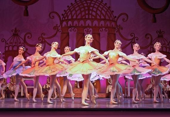 The Nevada Ballet Theatre dancers perform Waltz of the Flowers (Photo by Jeff Speer)