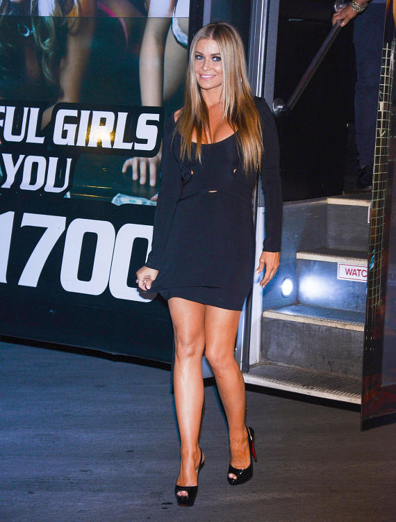 Carmen Electra arrives at Crazy Horse III