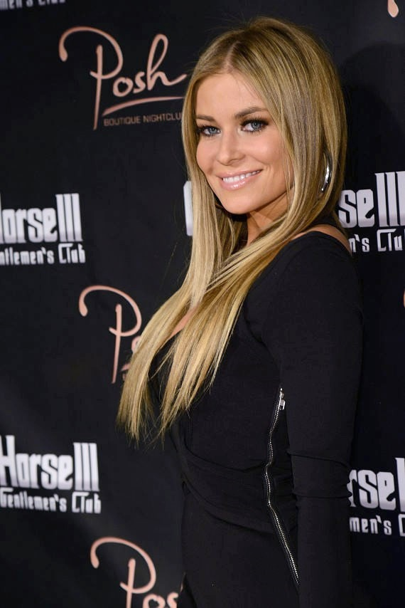 Carmen Electra on red carpet at Crazy Horse III