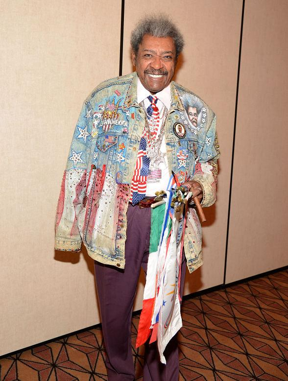 Boxing Promoter Don King at Treasure Island Resort &amp; Casino in Las Vegas