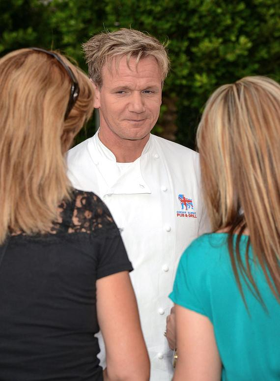 Gordon Ramsay with fans at Vegas Uncork'd by Bon Appétit