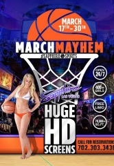 Sapphire, The World's Largest Gentlemen's Club, Hosts the Ultimate March Mayhem Viewing Party