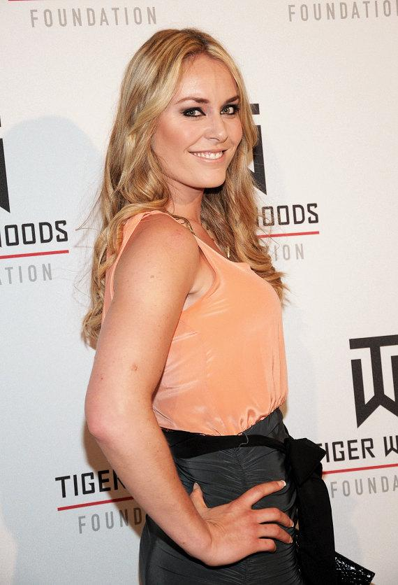 Olympic gold medalist Lindsey Vonn at Tiger Jam at Mandalay Bay Events Center