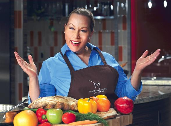 Martini Time with Chef Tina Martini at The M Resort