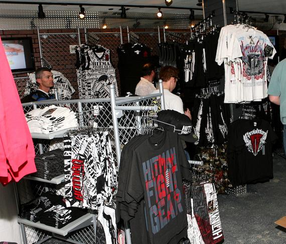 "Tito Ortiz's ""Punishment MMA Store"" opens at Hooters"
