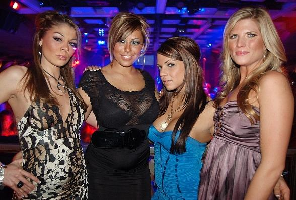 Girls of VH1's Tool Academy party at Jet Nightclub