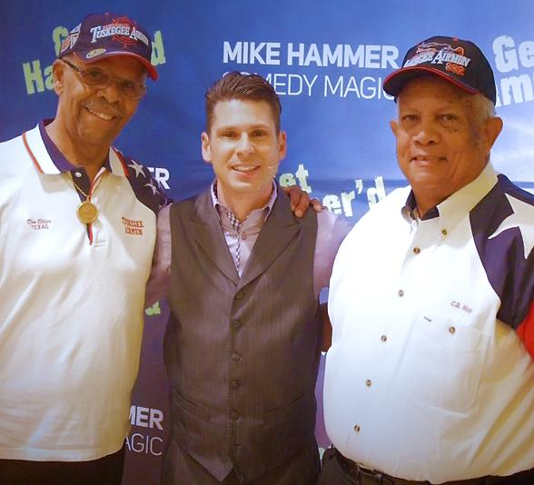 An American Hero and Tuskegee Airman visits The Mike Hammer Show