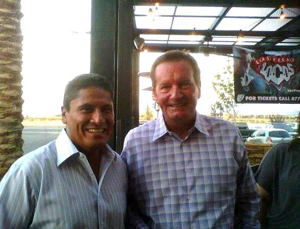 Ruben Herrera and Jim Fassel