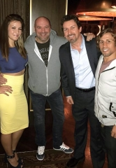 UFC Week in Vegas Means a Star-Studded Party at the D Casino Hotel with Dana White, Urijah Faber, Miesha Tate, Richard Wilk and George Bell