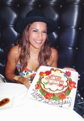 "UFC MMA Star Julianna ""The Venezuelan Vixen"" Peña Celebrates Birthday at the D Casino Hotel Las Vegas"