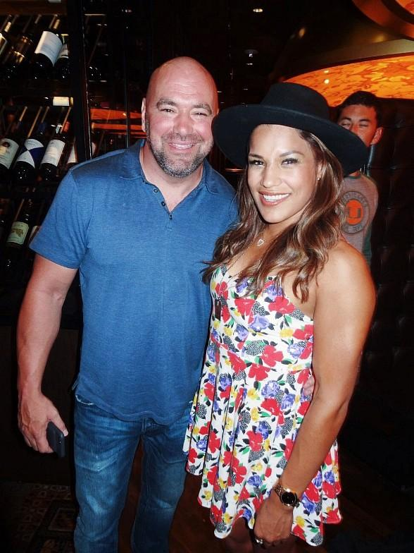 UFC President Dana White, UFC 200 Champ Julianna