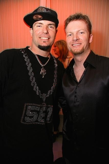 dale earnhardt jr. images. Vanilla Ice and Dale Earnhardt