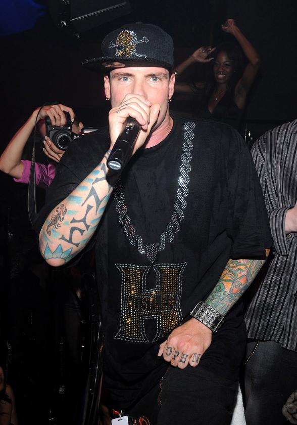 Vanilla Ice Performs at ROK Vegas Nightclub