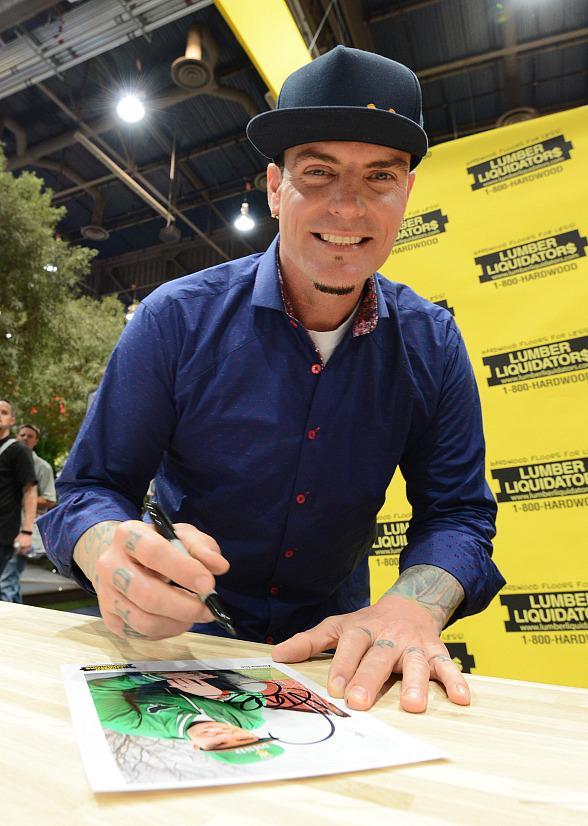 Vanilla Ice Spotted at NAHB International Builders Show in Las Vegas
