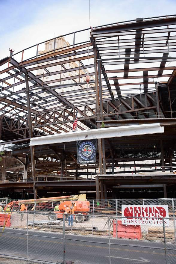 The Park Theater Marks Topping Out Milestone at Monte Carlo