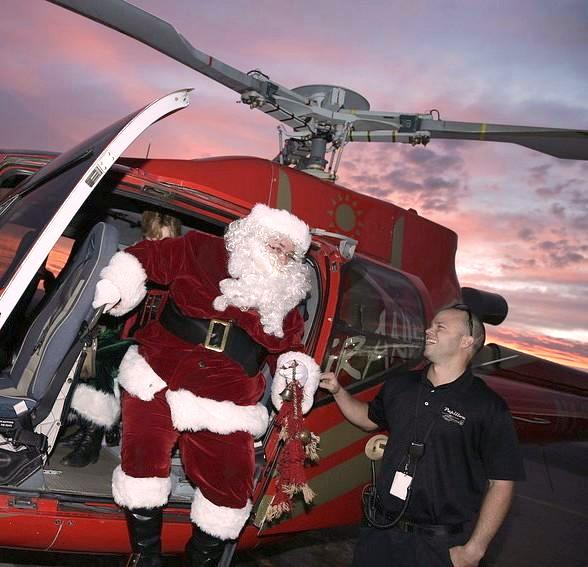 Santa Claus to Arrive at Opportunity Village's Magical Forest via Papillon Group Helicopter Friday, Nov. 20