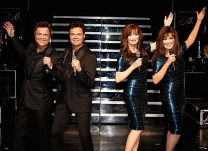 Donny & Marie unveil their Madame Tussauds wax figures in Las Vegas