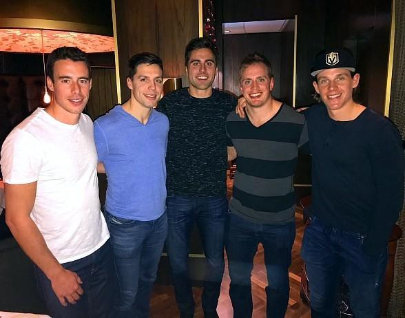 Vegas Golden Knights Players Spotted Dining at Andiamo After Fan Fest