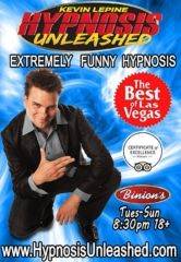 """Hypnosis Unleashed"" Starring Kevin Lepine Takes Audiences on a Comedy Thrill Ride at Binion's Gambling Hall"