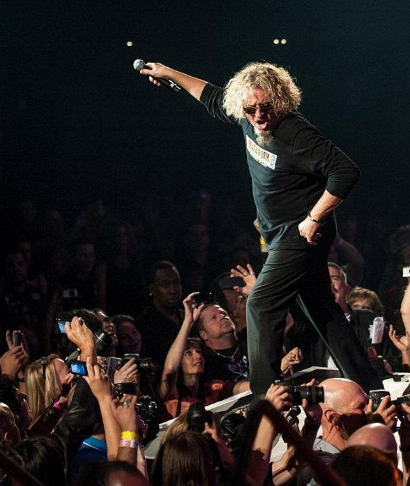 Sammy Hagar performs at Vegas Rocks! Magazine Music Awards