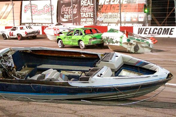 Waterless Boat Races at Las Vegas Motor Speedway
