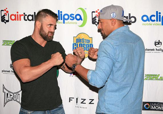 Phil Baroni and Jay Hieron on red carpet