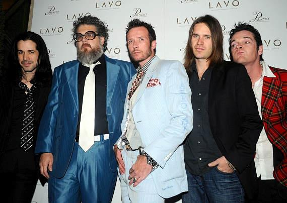 Scott Weiland, Doug Grean and band at LAVO in The Palazzo (Photo Credit: Bryan Haraway)