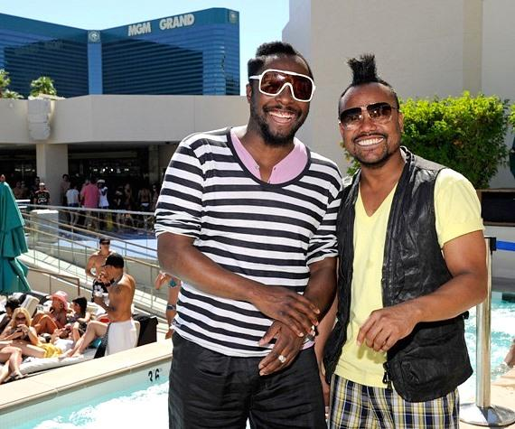 will.i.am and apl.de.ap at WET REPUBLIC