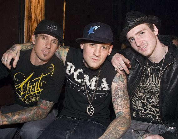 Carey Hart and Benji Madden at Wasted Space (Photo credit: Hard Rock Hotel & Casino)