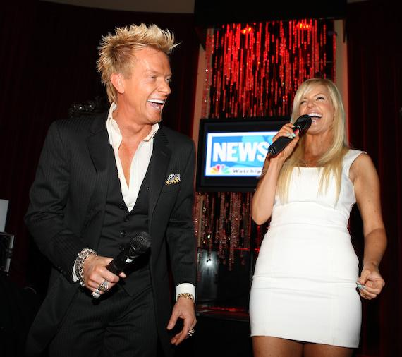 Zowie Bowie performed at the event