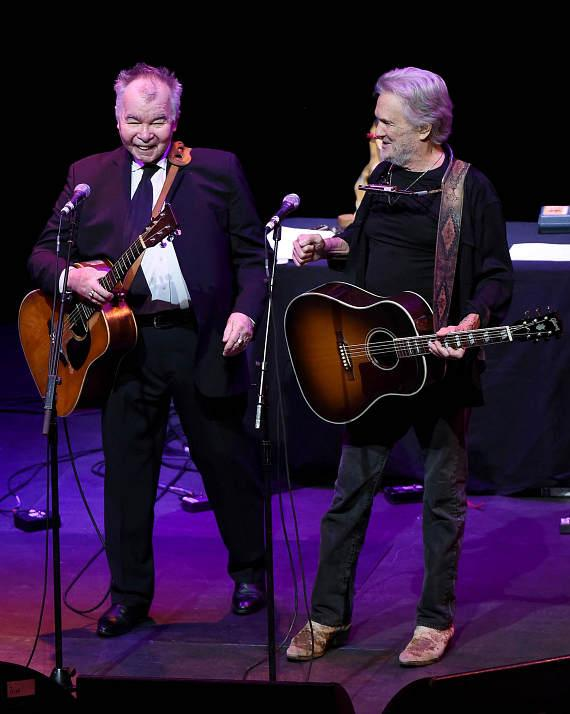 John Prine and Kris Kristofferson