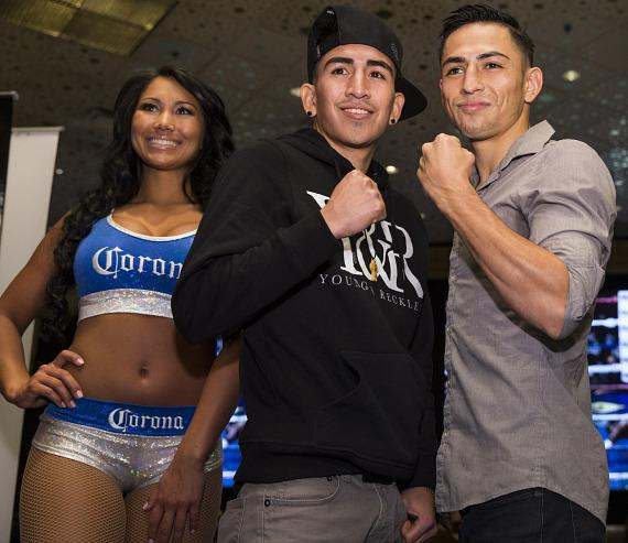 Leo Santa Cruz and Jesus Ruiz