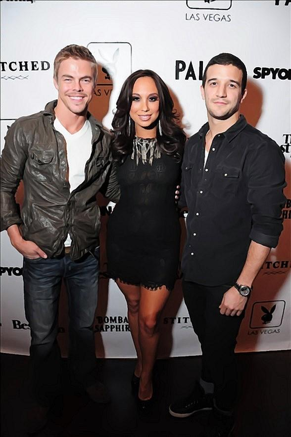 Derek Hough, Cheryl Burke and Mark Ballas