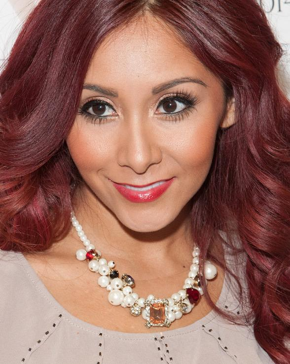 Nicole 'Snooki' Polizzi Appears at MAGIC to Unveil Her New Fall Sportswear Collection