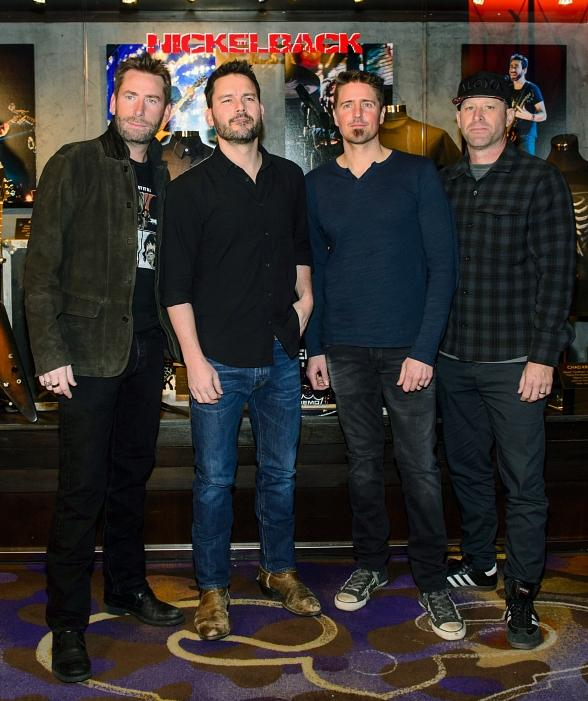 Nickelback rocks into las vegas with feed the machine residency at nickelback rocks into las vegas with feed the machine residency at the joint at m4hsunfo