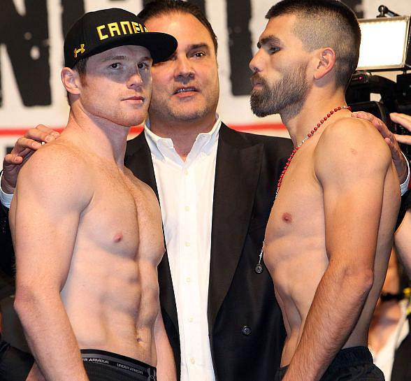 "Boxing Superstars and Compatriots Canelo Alvarez and Alfredo Angulo Go ""Toe to Toe"" Saturday, March 8"