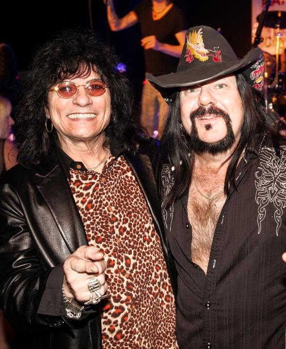 Paul Shortino and Vinnie Paul's birthday bash at Vinyl