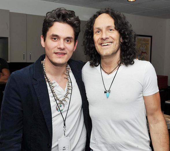 John Mayer Spotted at Def Leppard's VIVA Hysteria! at The Joint at Hard Rock Hotel & Casino