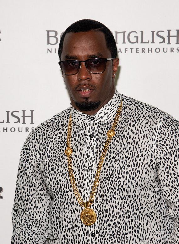 Puff Daddy arrives at Hard Rock Hotel Las Vegas
