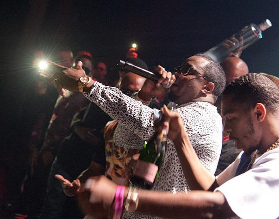 Puff Daddy hosts fight after-party at The Joint at Hard Rock Hotel Las Vegas