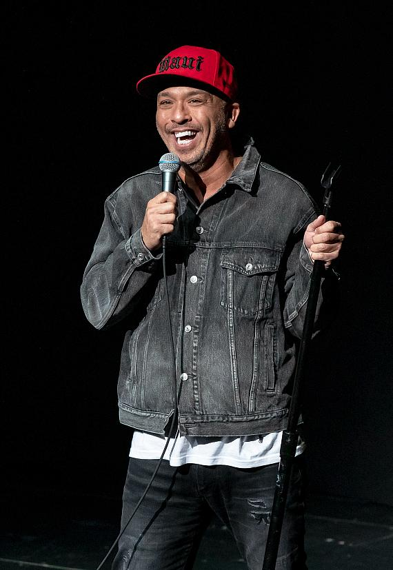 Comedian Jo Koy performs at the Encore Theater at Wynn Las Vegas
