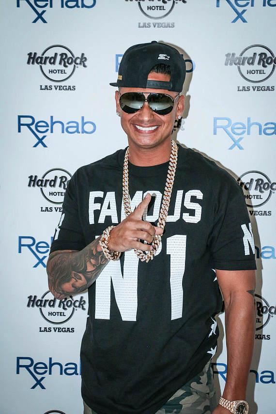 DJ Pauly D arrives at REHAB at Hard Rock Hotel & Casino Las  Vegas